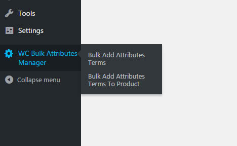 bulk attributes plugin interface